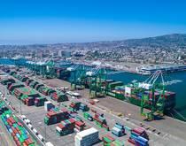Port of Los Angeles.