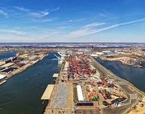 Port of New York and New Jersey.