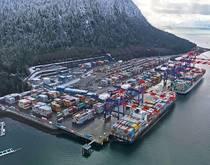 Port of Prince Rupert.
