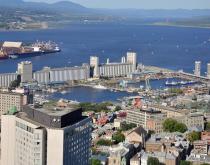 Port of Quebec.