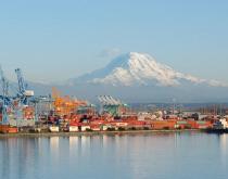 Port of Tacoma, Washington.
