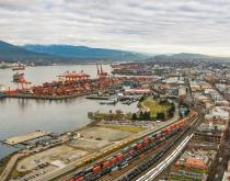 Port of Vancouver.