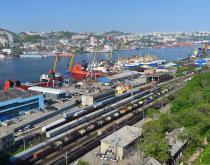 Port of Vladivostock.
