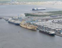 Port of Wilmington.
