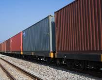 Freight rail cars.