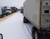 BNSF Lot 16 truck congestion.