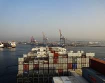 Visakhapatnam Port, India.