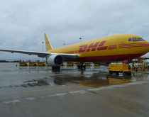DHL hub in Cincinnati (Kentucky)