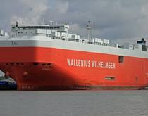 A Wallenius Wilhelmsen ship.