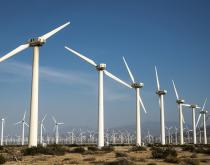 Trade in wind energy components is increasing in the United States.