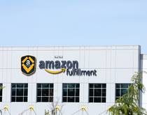 An Amazon fulfillment center in Washington state, United States.