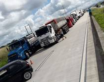 Brazil truckers on strike - May 2018.
