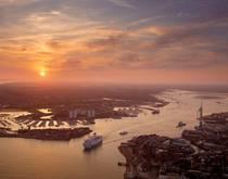 Dover Straits, United Kingdom.