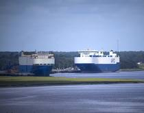 Brunswick Port, Georgia, United States.