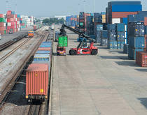PSA opened the Bharat Mumbai Container Terminals (BMCT) at JNPT in February 2018, with a capacity of 2.4 million TEU annually in the first phase. Source: Shutterstock