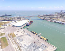 Port Corpus Christi, pictured, says its decision to test sediment will speed the timeline for its dredging project by nearly a year.