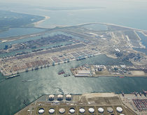 Cosco Pacific bought a stake in the Euromax Terminal Rotterdam, pictured, earlier in the year as it continues to expand globally with a particular focus on Europe.