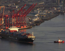 Hanjin Shipping's T-46 terminal at the Port of Seattle, pictured, is one the locations on the US West Coast where shippers can drop off empty Hanjin-owned containers.