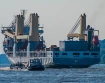 Heavy lift ship.