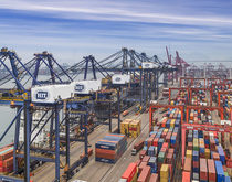 Hongkong International Terminals, pictured, said the fees were needed to pay for an adequate response to the unprecedented crisis spawned by Hanjin's failure.