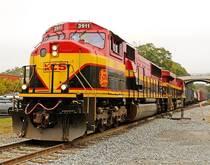 Kansas City Southern Railway.