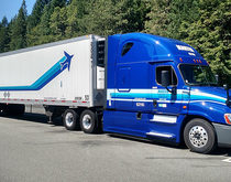 Dedicated trucking makes up 8 percent more of Marten Transport's business mix than it did at this time last year.