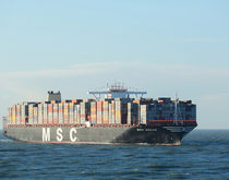 Stiff competition among new alliances and continued capacity additions, led by Mediterranean Shipping Co., could keep container shipping rates depressed well into next year.