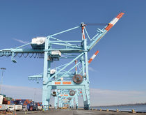 The APM Terminals facility in Elizabeth, New Jersey, will be able to handle ships with capacities of 13,000 twenty-foot-equivalent units upon completion of the new investments.