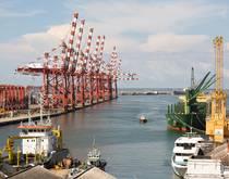 Port of Colombo, Sri Lanka.
