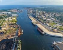 Port of Mobile, Alabama, United States.