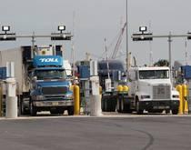 Port Newark Container Terminal.
