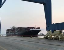 Port of Wilmington, North Carolina.