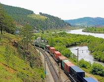 Russia Trans-Siberian Railroad.