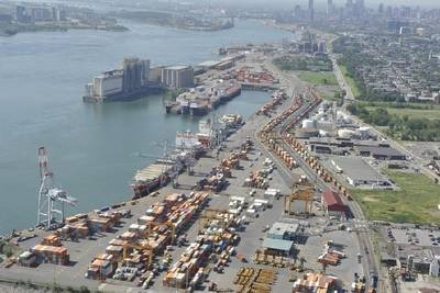 Port of Montreal.