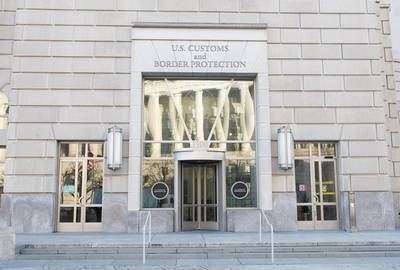 US Customs and Border Protection headquarters, Washington, DC.