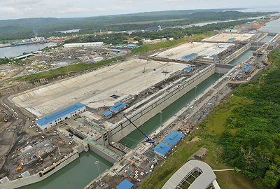 Panama Canal locks expansion project