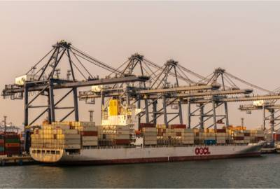 OOCL has reported a good first year under the ownership of Cosco Shipping.