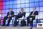 From left: Walter Kemmsies, Moffatt & Nichol; Mario Moreno, JOC Group Inc.; Neil Dekker, Drewry.