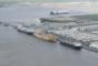 Port of Wilmington, Delaware.