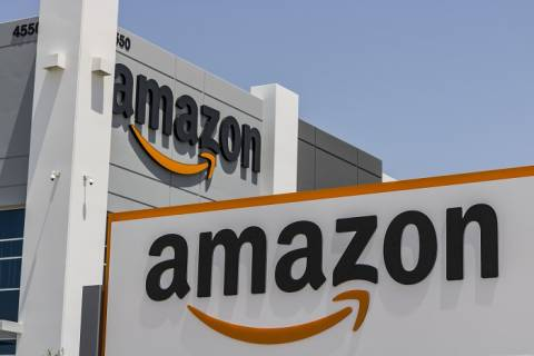An Amazon center in Nevada, United States.