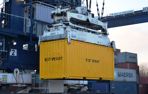 SOLAS VGM IMO container weight