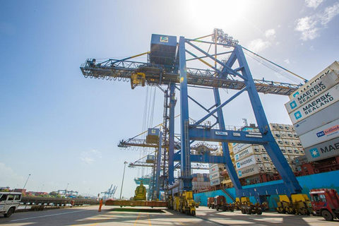 DP World's Nhava Sheva International Container Terminal, pictured, may have been the company's first terminal in India, but it likely won't be its last.