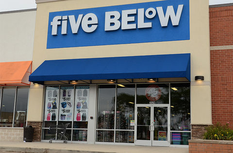 Five Below retail storefront