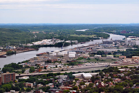 The Port of Albany, pictured, will combine the federal Transportation Investment Generating Economic Recovery grant with previously committed port and state funding.