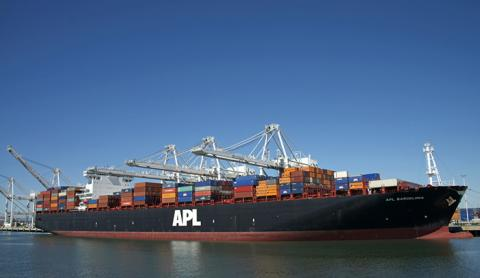 SOLAS verified gross mass VGM IMO container weights APL