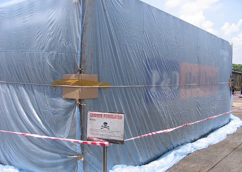 Some forwarders are reporting that fumigating a 40-foot container at a main Chinese port would cost a shipper an estimated 2,000 yuan ($301).