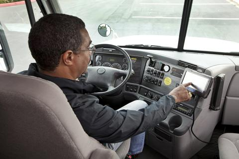 The electronic logging device mandate could create value for smaller trucking companies by enabling better shipment visibility.