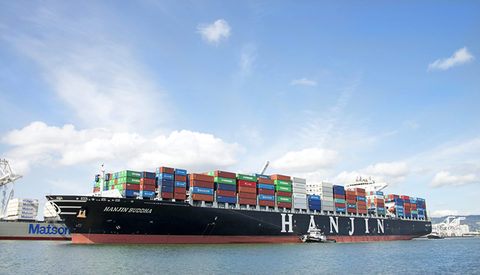 Being in the red for four of the last five years has caught up to Hanjin Shipping.