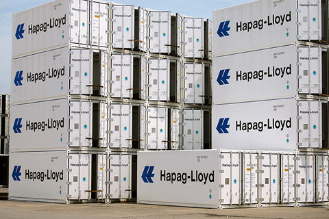 Hapag-Lloyd ordered 5,750 new refrigerated containers in mid-September.