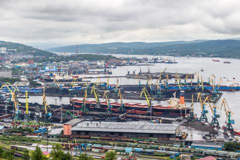 The port of Murmansk, pictured, is used mostly for coal, but a government policy could change that and increase the amount of containers it handles.